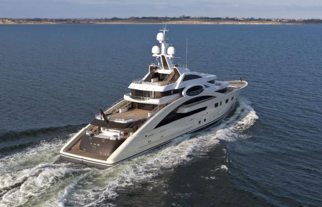 85m Megayacht ACE Ex Project Rocky By Lurssen Yachts