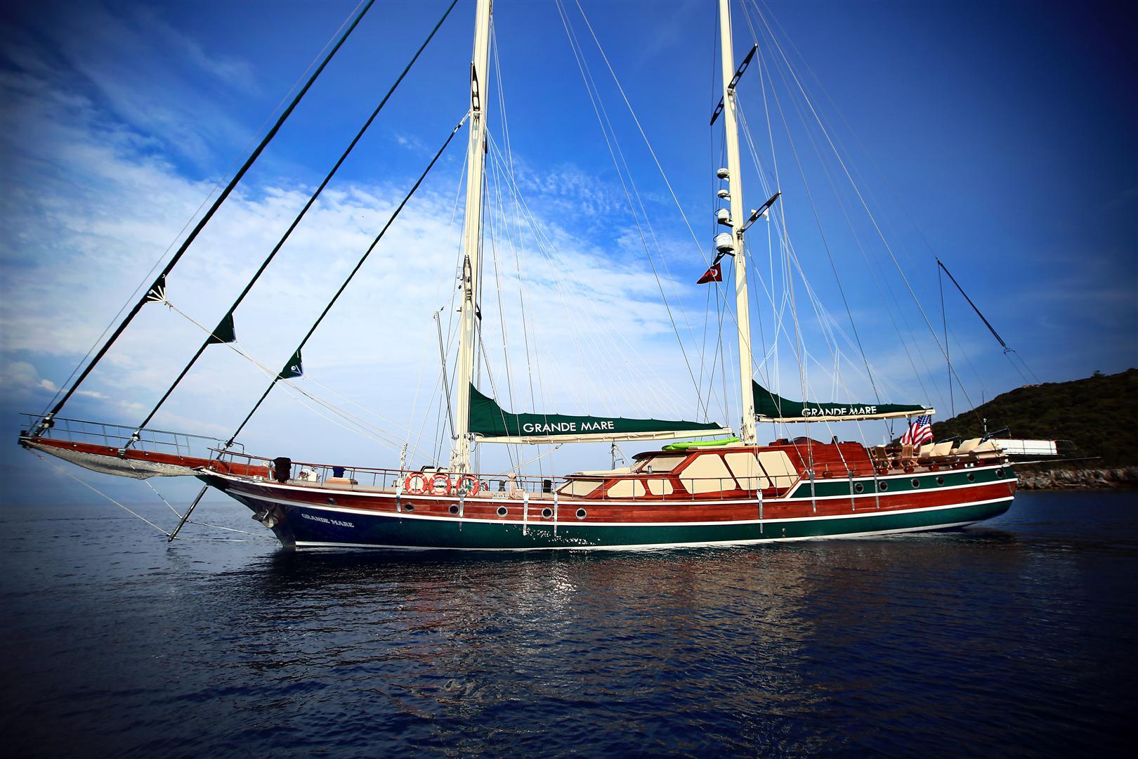 Luxury Turkish Gulet Grande Mare Luxury Yacht Charter