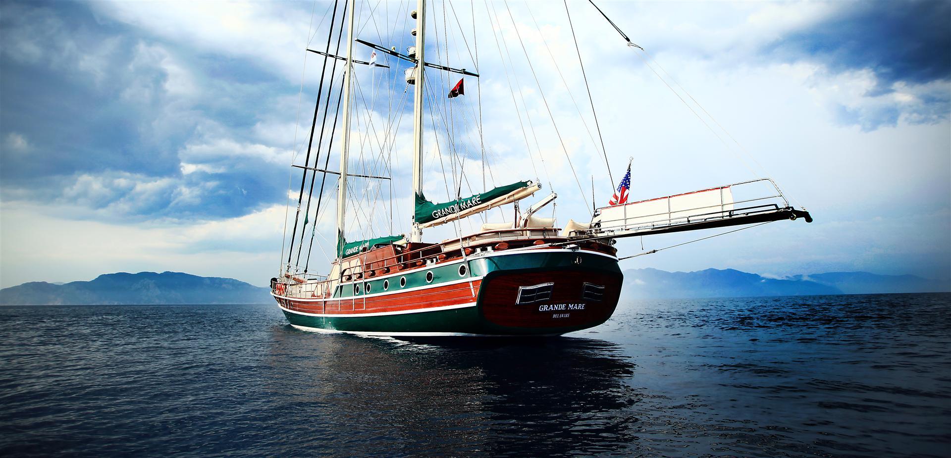 Luxury Yacht Grande Mare A Turkish Gulet Yacht Charter
