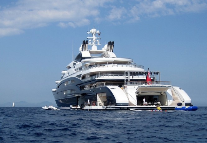 Additional Photos Of The 134m SERENE Yacht On The French
