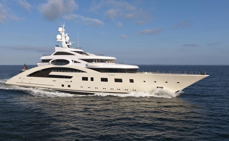 87m Lurssen Yacht Charter Amp Superyacht News