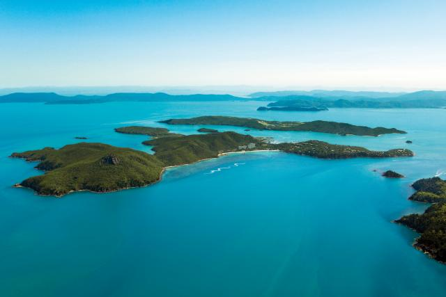 Aerial View Of Hamilton Island Yacht Charter