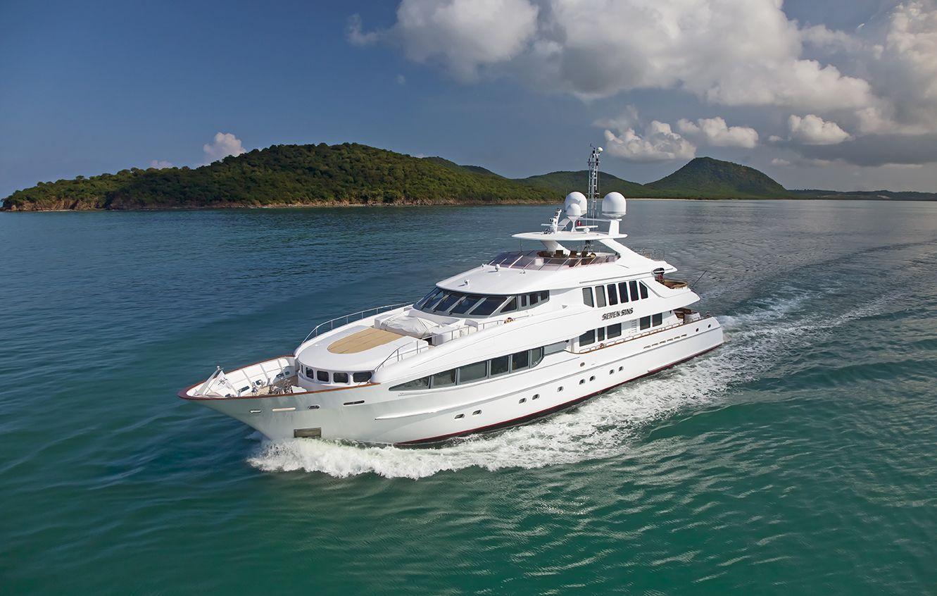 Luxury Charter Yacht Seven Sins Luxury Yacht Charter