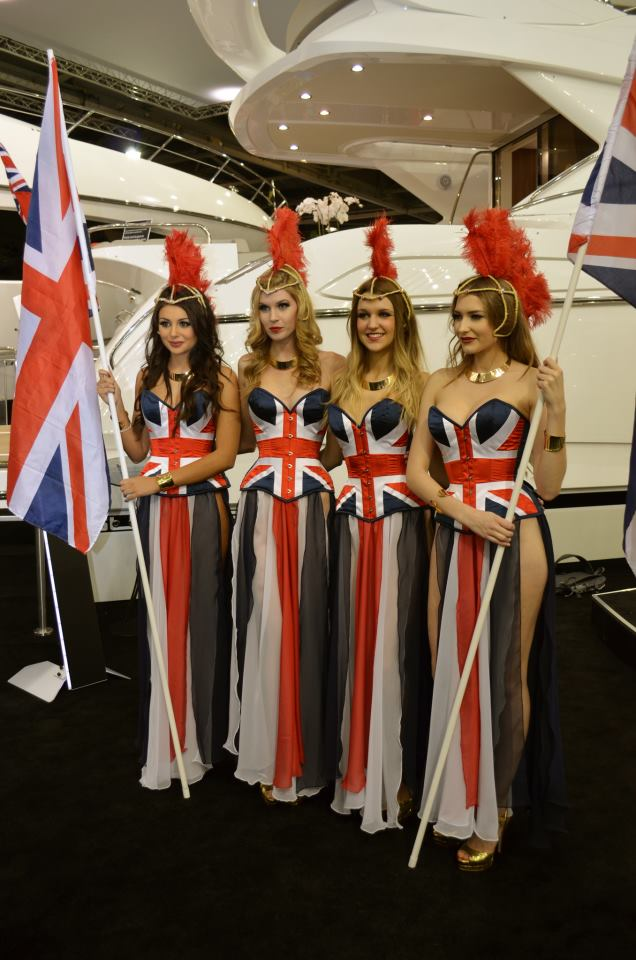 Opening Of The Sunseeker International Stand At London