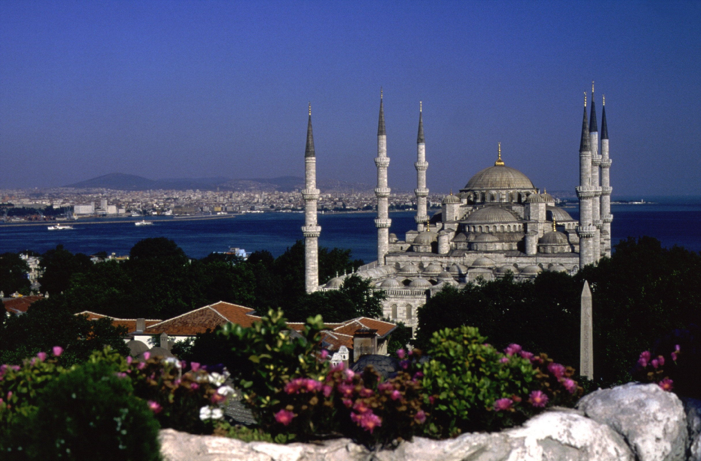 Blue Mosque Courtesy Of Turkish Tourist Office Yacht