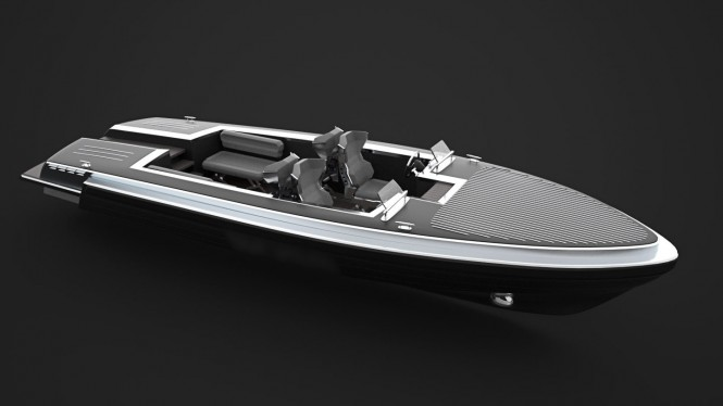 New PINSTRIPE Yacht Tender Concept Introduced By Gray