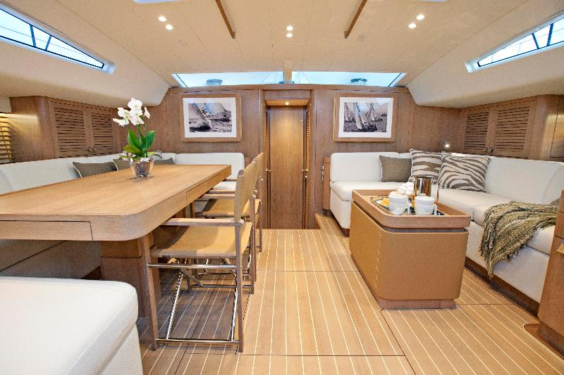 Swan 90S Yacht Freya Interior Photo By MartinezStudio