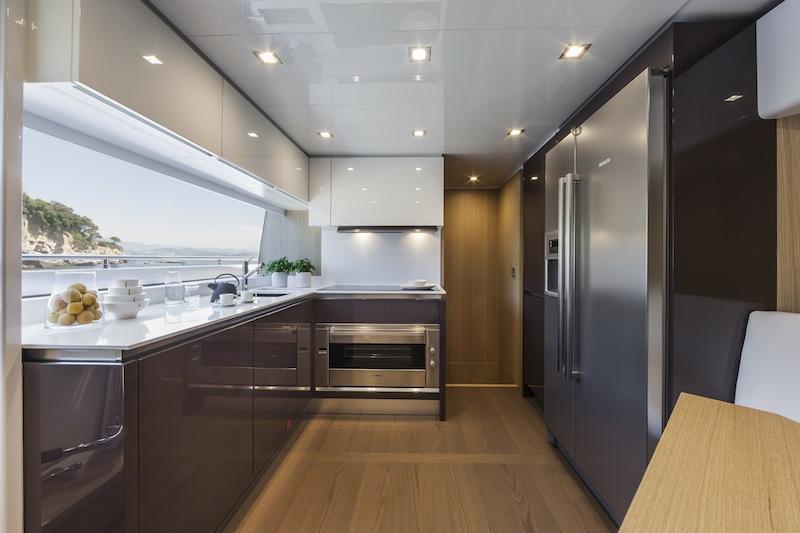 Ferretti 960 Yacht Galley Yacht Charter Amp Superyacht News