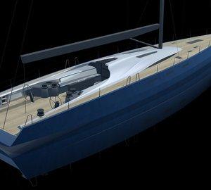 New 80m Luxury Sailing Trimaran DRAGONSHIP 80 By Pi Yachts