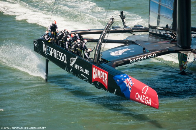 Second Point For Emirates Team New Zealand In Louis