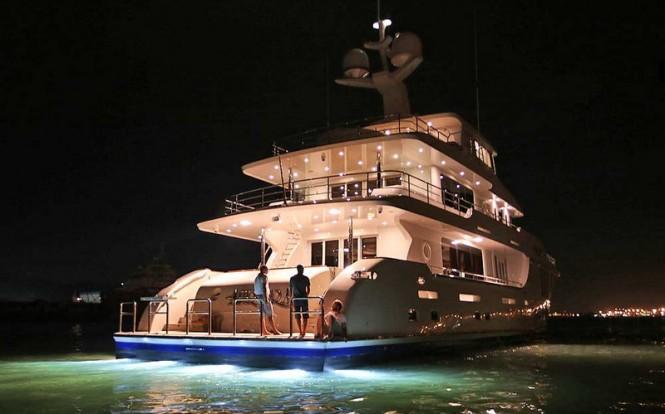 New Photos Of Nordhavn 120 Luxury Yacht AURORA From Her
