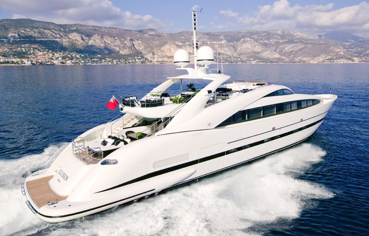 Motor Yacht Sealyon Ex Illusion ISA 120 Yacht Yacht