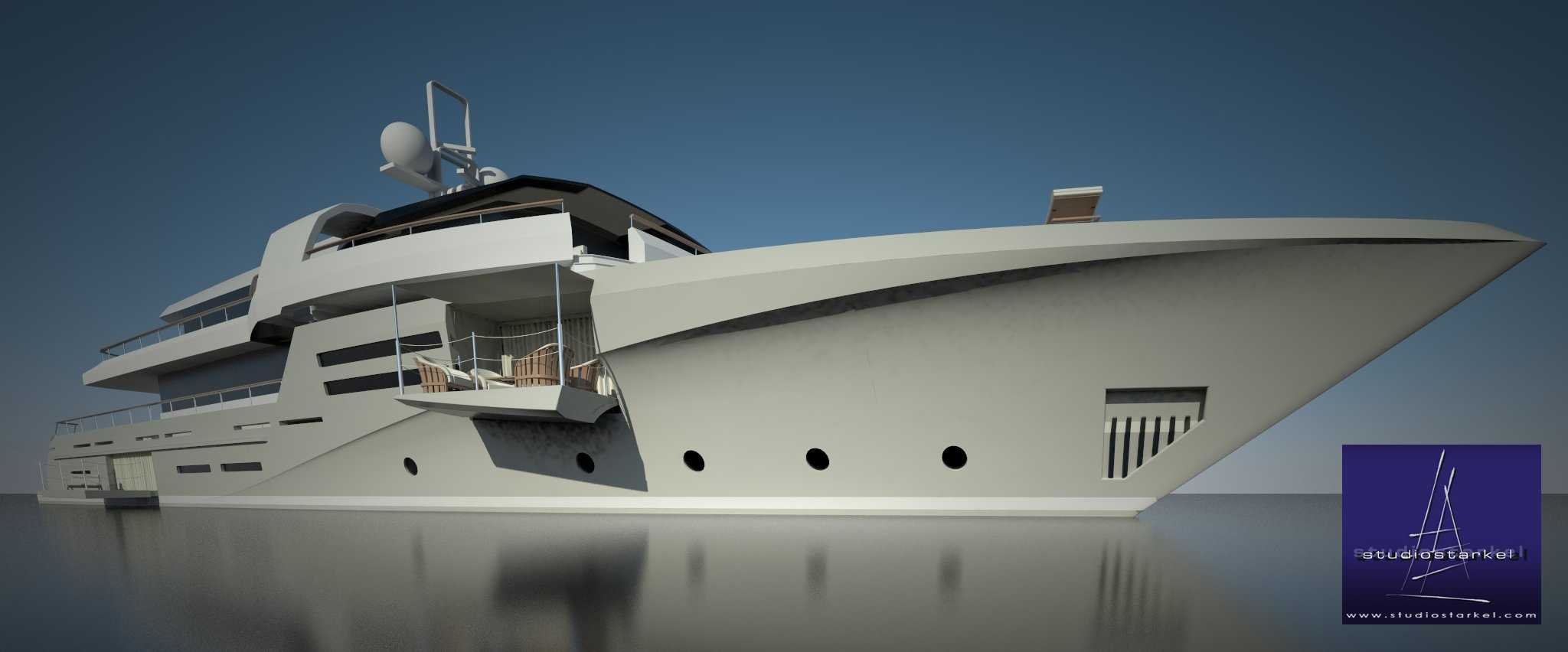 44m Diesel Electric Luxury Yacht Design Yacht Charter