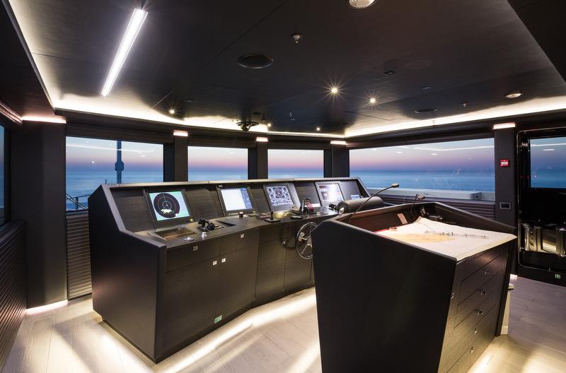 Ocean Paradise Superyacht Wheelhouse Yacht Charter