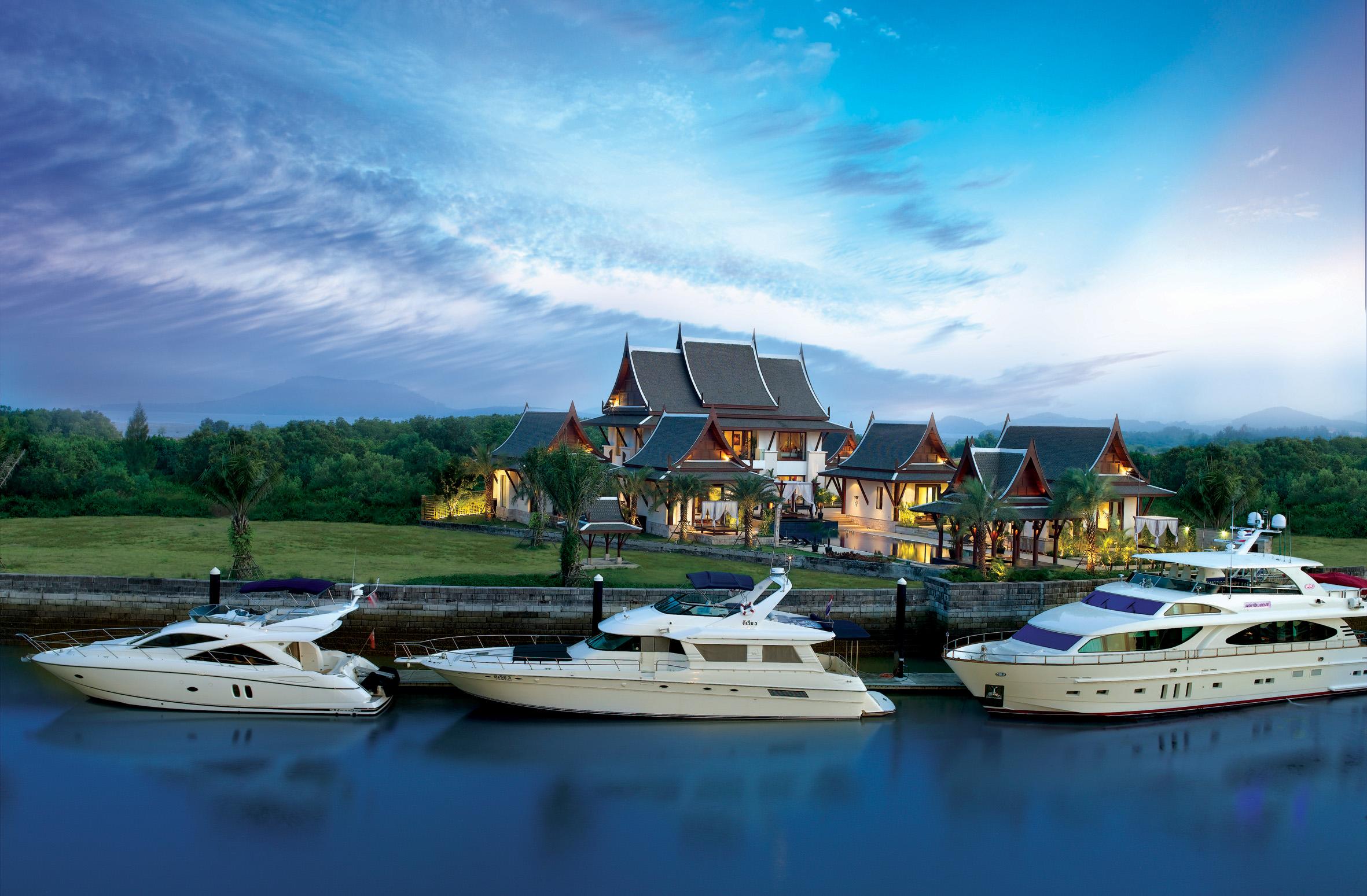The Grand Villa At Royal Phuket Marina Yacht Charter