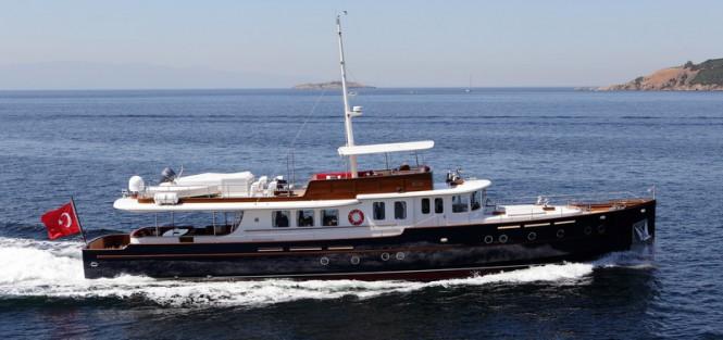 New 36m Classic Motor Yacht CMY 36 By Taka Yacht Design