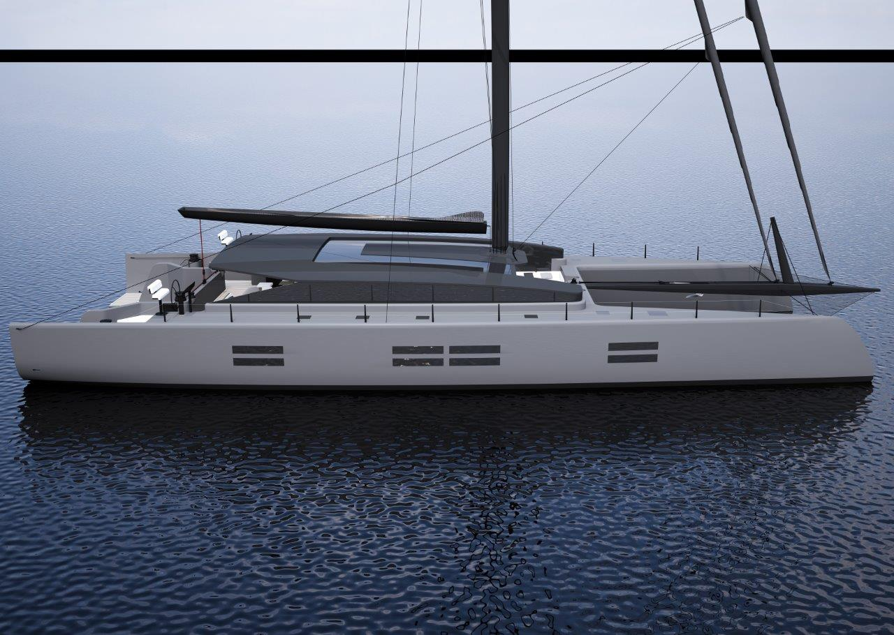 90 Catamaran Concept By McConaghy And Ker Yacht Design