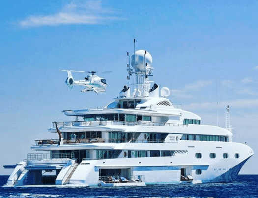 With Plenty Of Various Amenities Superyachts Offer Comfortable And Truly Opulent Travel Experience While Yacht Helicopters Are An Essential Part It