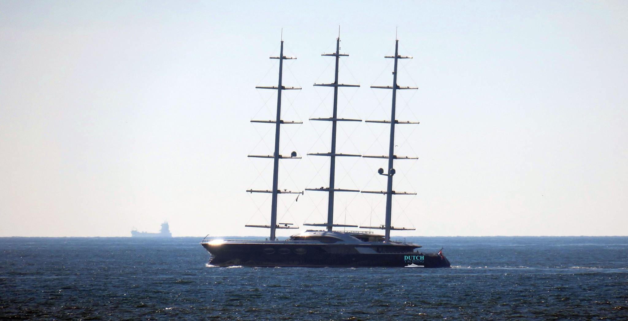 SY Black Pearl On Sea Trials Photo Credit Dutch Yachting