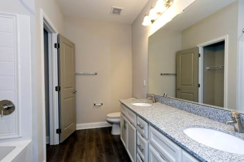 Expansive Bathroom Mirror
