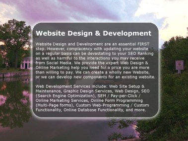 Web Design by Chase-It Marketing - Erie Canal Henrietta NY - Copyright, © 2019 Colin Chase
