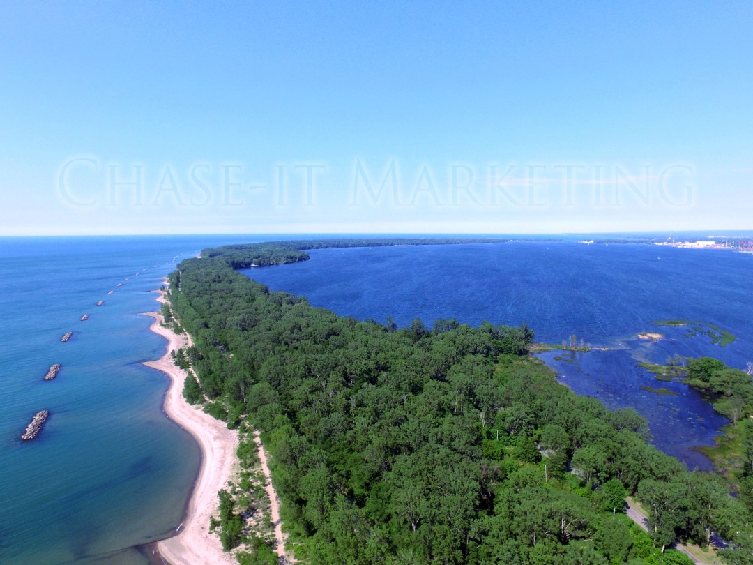 Presque Isle in Erie PA - Copyright, © 2019 Colin Chase