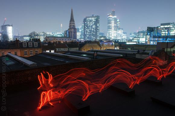 Long exposure LED runner