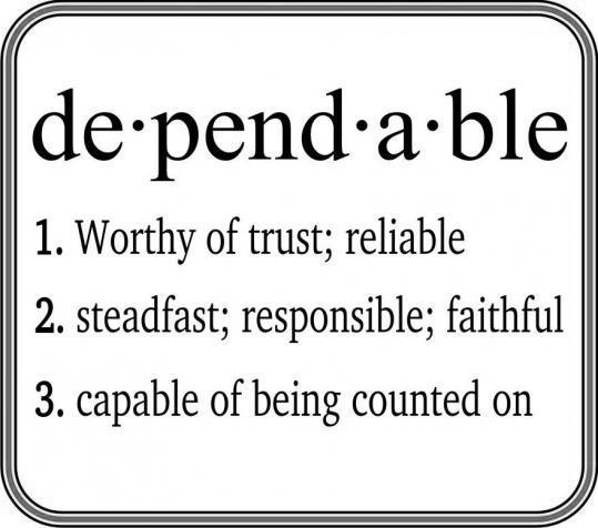 30 Day Challenge: Dependable