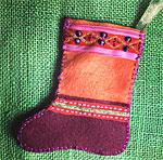 Sew a Felt Christmas Stocking with a Pocket
