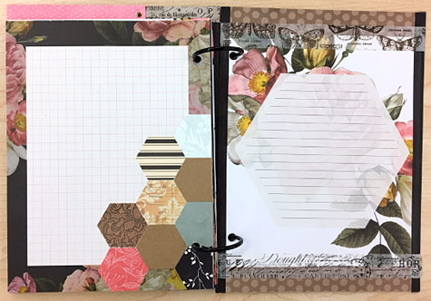 Journaling Page Layout Samples