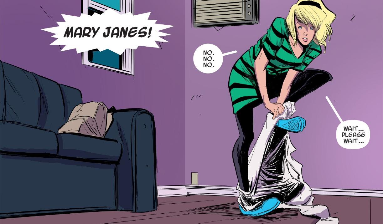 Amazing Spider Stacy Feet Gwen Man