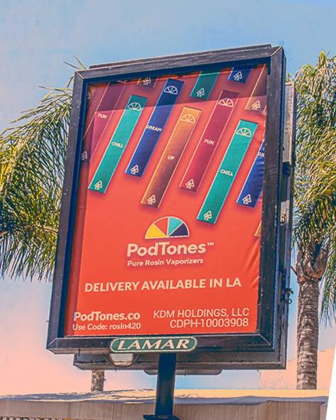 PodTones Billboard