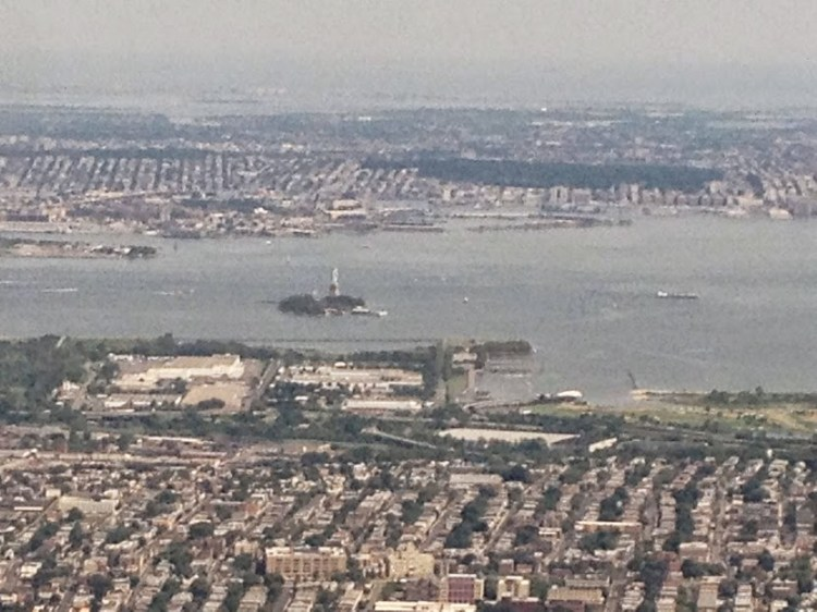 You may even get lucky and have the opportunity to see the Statue of liberty