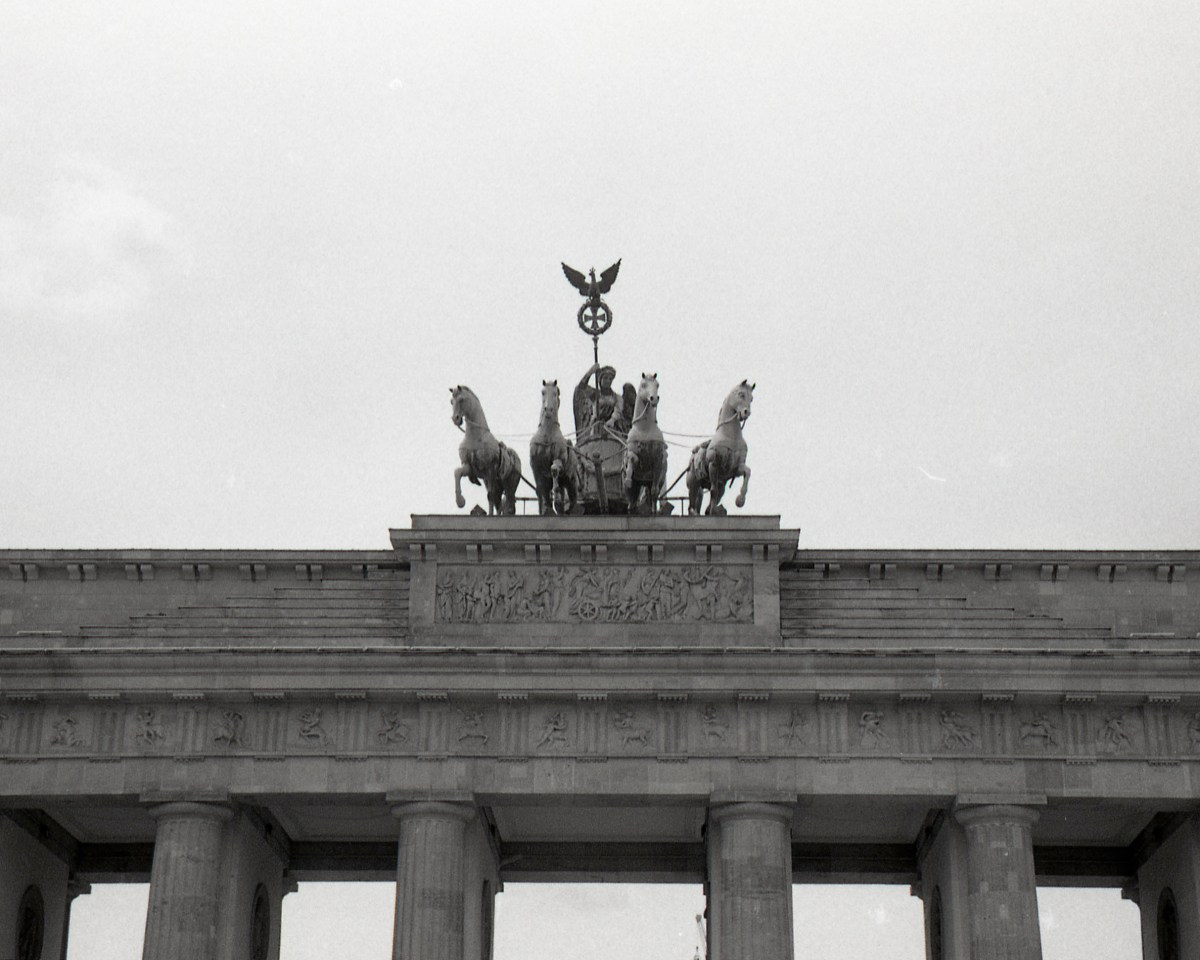 Berlin in 35mm Black and White