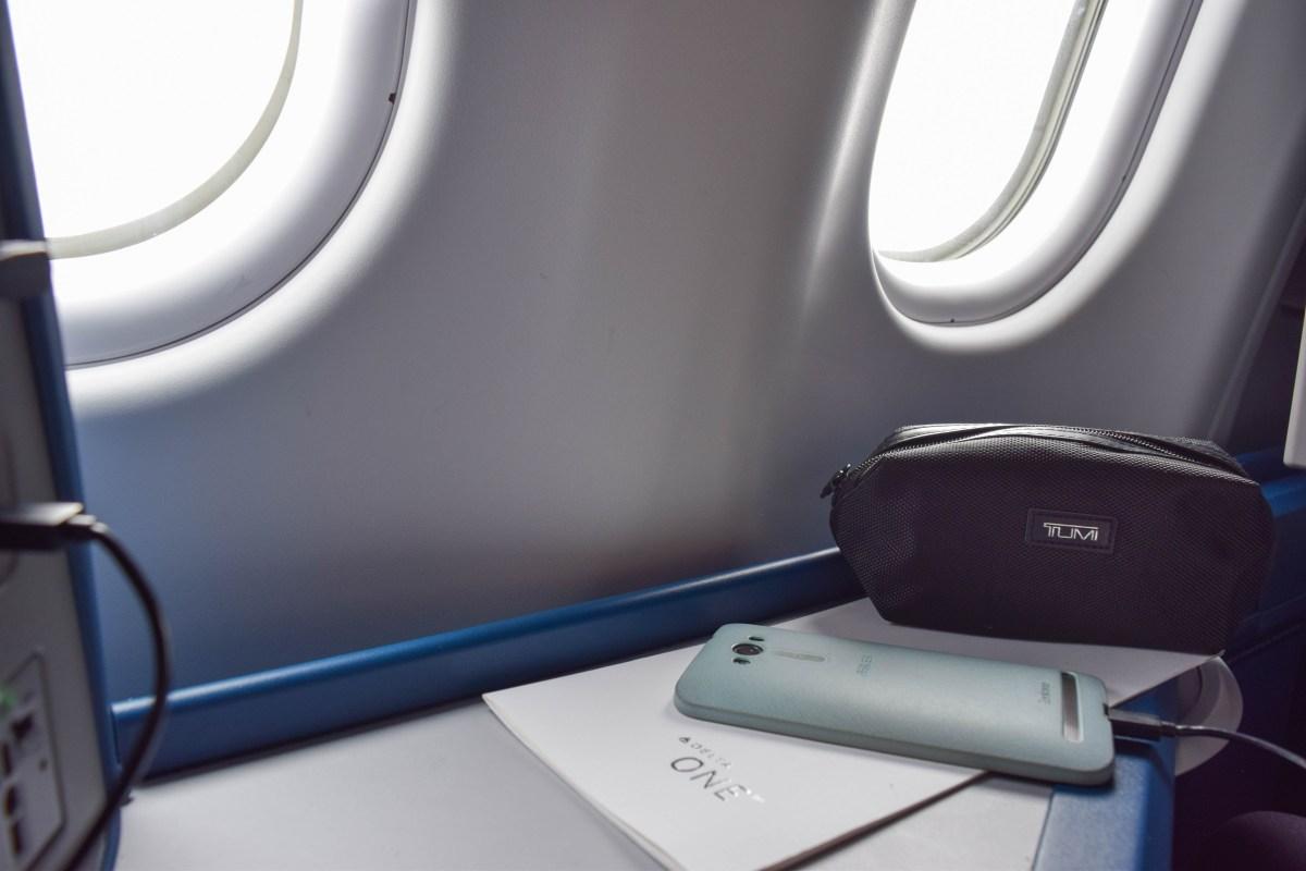 Delta One: Amsterdam to Minneapolis
