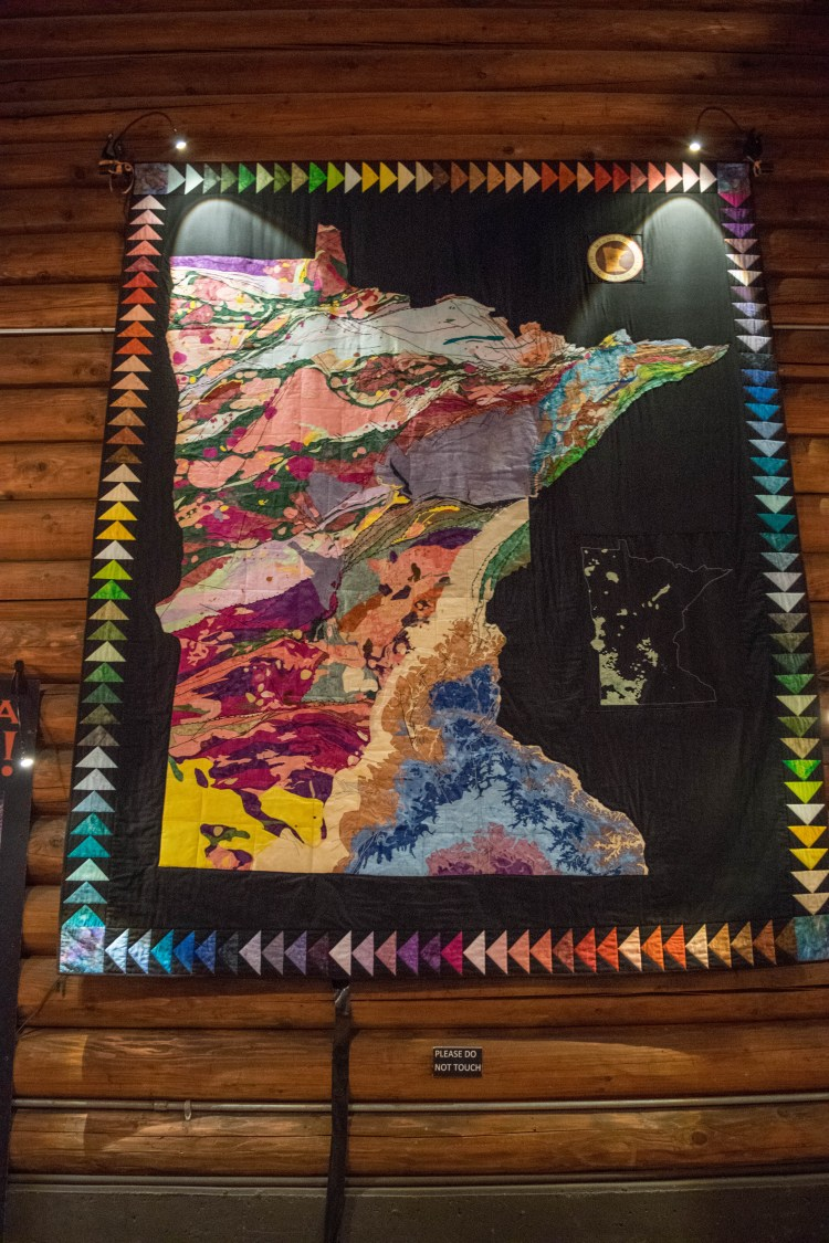 Minnesota Geologic Map Quilt