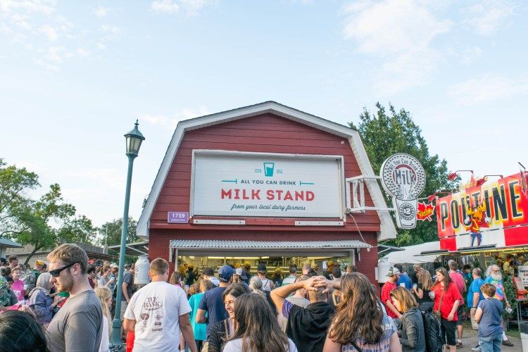 Minnesota State Fair Milk Stand