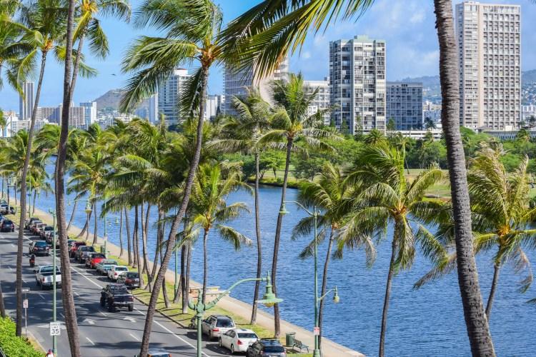 Waikiki Sand Villa View