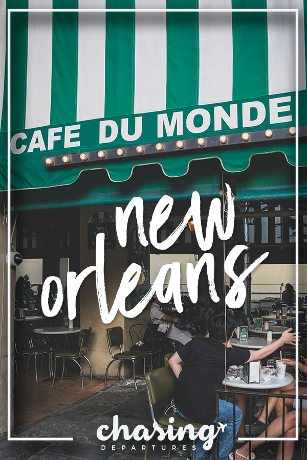 Five Things I Loved in New Orleans | These are things to experience in New Orleans whether you try to or not. The food, the alcohol, the culture, and more. All uniquely New Orleans. | Chasing Departures | #neworleans #whattodoinneworleans #louisiana #southernus #south
