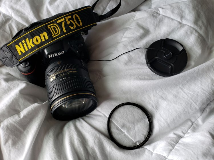 nikon, uv lens filter, camera cap keeper