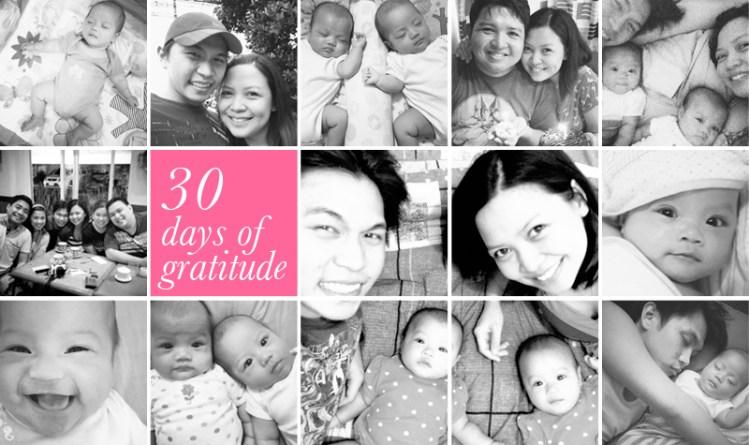 30 Days of Gratitude, it's a wrap!