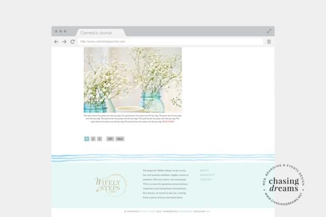 Blog Design Mockup