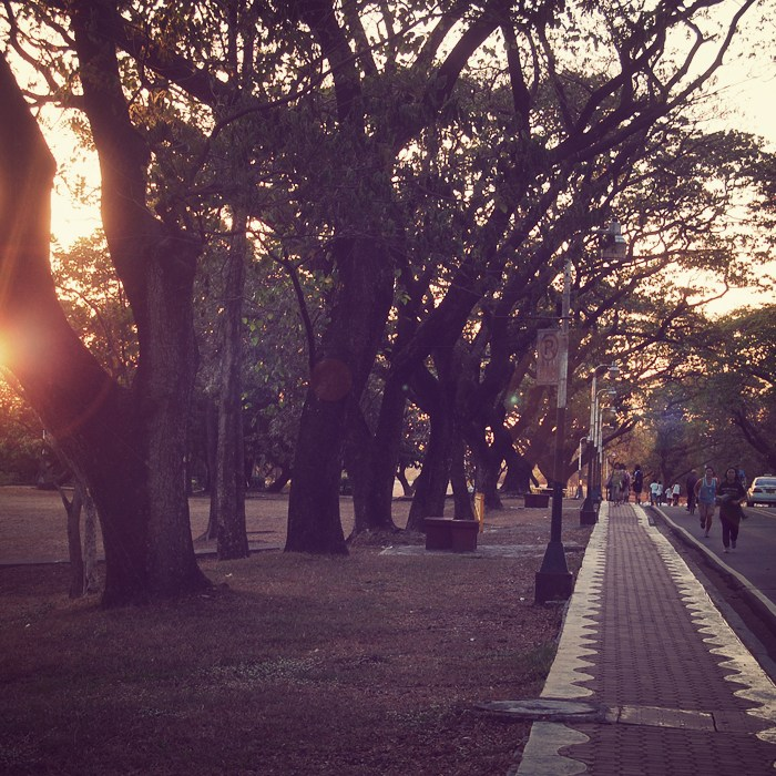 Today I went to UP Diliman