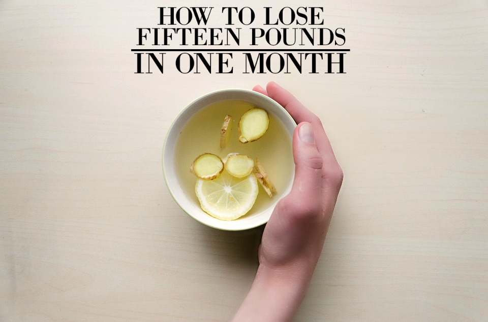 How To Lose 15 Pounds In A Month Without Exercise