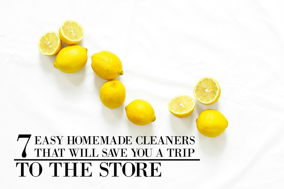 7 Homemade Cleaners That Will Save You a Trip to the Store