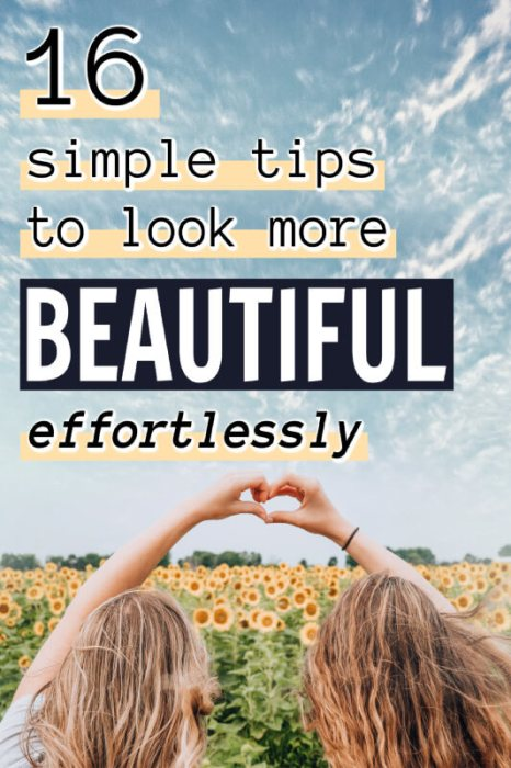 How To Be Beautiful Pinterest pin