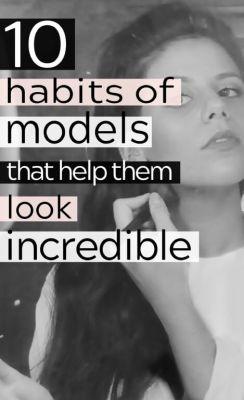 10 Beauty Secrets from Models Revealed Pinterest Pin