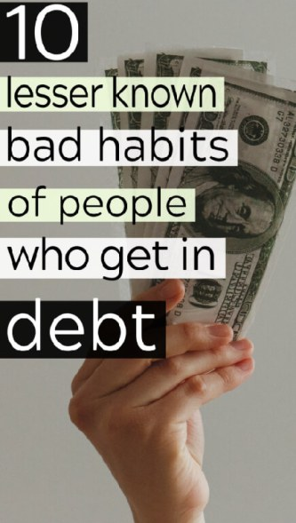 10 Top Causes of Debt That Are Less Mentioned