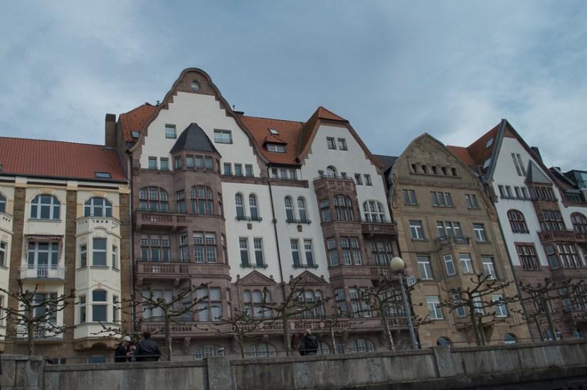 dusseldorf, rhine river, altstadt