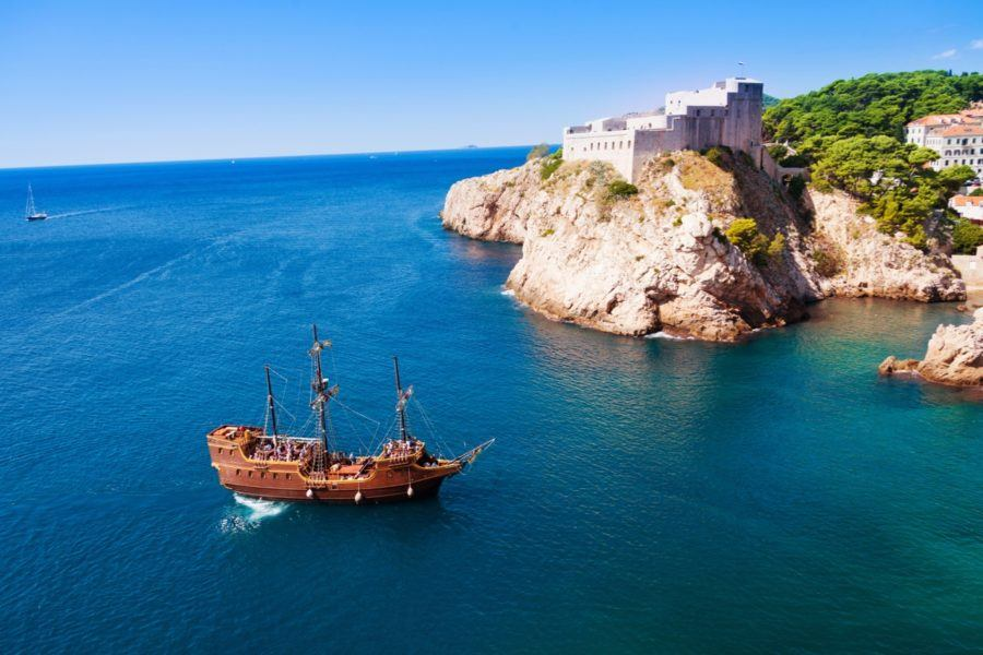 Sail ship_Pirate_Dubrovnik - Croatia Travel Blog